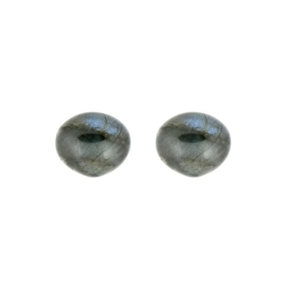 Labradorite, blue, smooth teardrop, onion shape, 13 x 11 mm